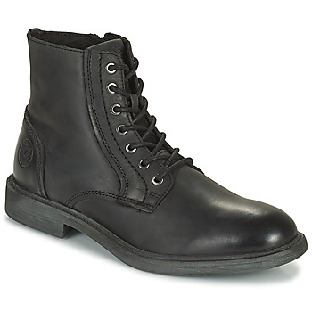 Chaussures Homme Boots Jack & Jones JFW KARL LEATHER BOOT Noir