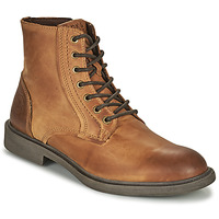 Chaussures Homme Boots Jack & Jones JFW KARL LEATHER BOOT Cognac