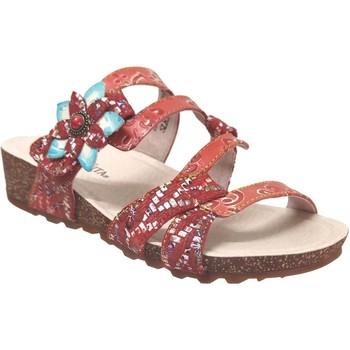 Chaussures Femme Mules Laura Vita Brcyano 51 Rouge cuir