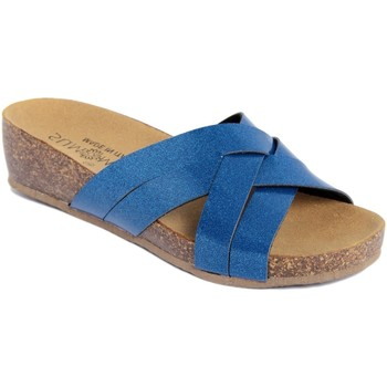 Chaussures Femme Mules Summery  Blu