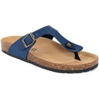 Chaussures Femme Tongs Summery  Blu
