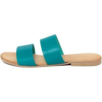 Chaussures Femme Mules Lionellaeffe Eccellenza Toscana  Blu