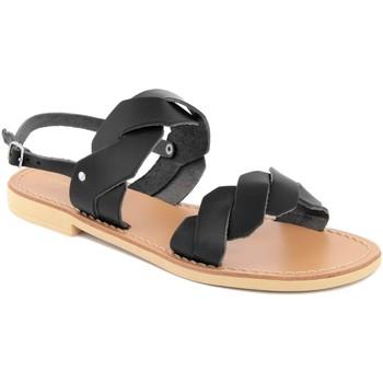 Chaussures Femme Sandales et Nu-pieds Donna Toscana  Nero
