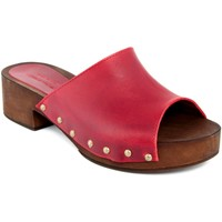 Chaussures Femme Mules Marradini  Rosso