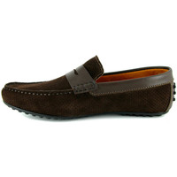 Chaussures Homme Mocassins J.bradford JB-BERFIN MARRON Marron