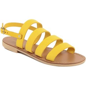 Chaussures Femme Sandales et Nu-pieds Donna Toscana  Giallo