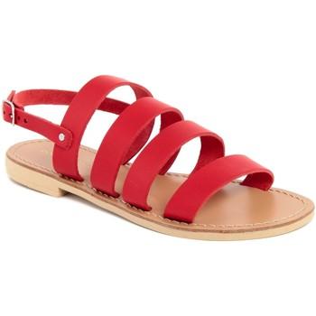 Chaussures Femme Sandales et Nu-pieds Donna Toscana  Rosso