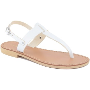 Chaussures Femme Tongs Donna Toscana  Bianco