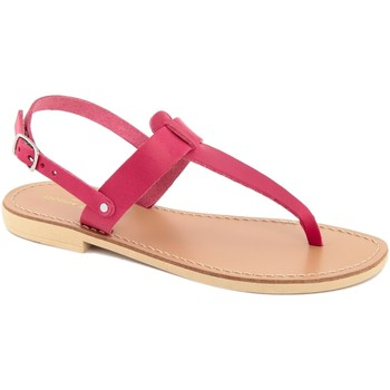 Chaussures Femme Tongs Donna Toscana  Rosa