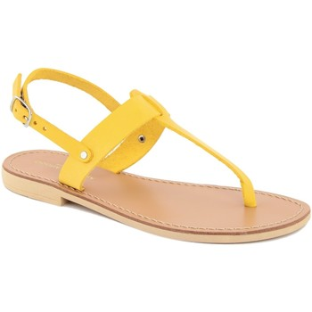 Chaussures Femme Tongs Donna Toscana  Giallo