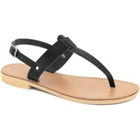 Chaussures Femme Tongs Donna Toscana  Nero