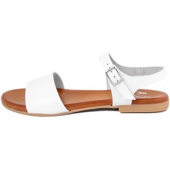 Chaussures Femme Sandales et Nu-pieds Alissa  Bianco