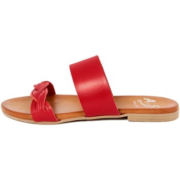 Chaussures Femme Mules Alissa  Rosso
