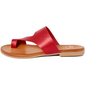 Chaussures Femme Tongs Alissa  Rosso