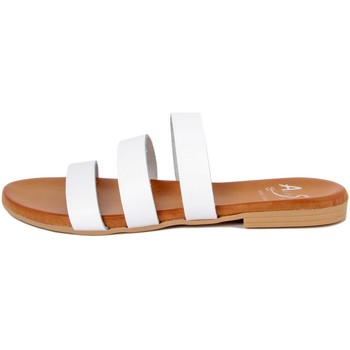 Chaussures Femme Mules Alissa  Bianco