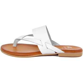Chaussures Femme Tongs Alissa  Bianco