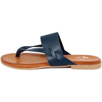 Chaussures Femme Tongs Alissa  Blu