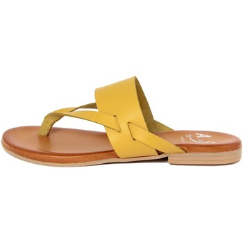 Chaussures Femme Tongs Alissa  Giallo