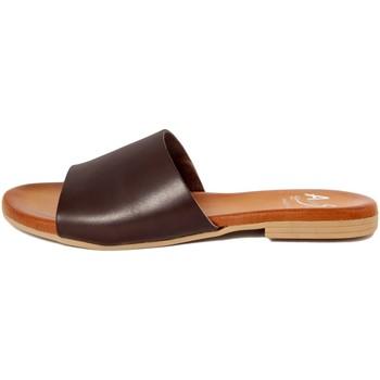 Chaussures Femme Mules Alissa  Marrone