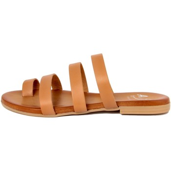 Chaussures Femme Tongs Alissa  Beige