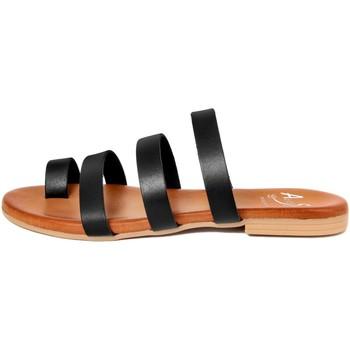 Chaussures Femme Tongs Alissa  Nero