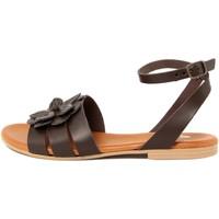 Chaussures Femme Sandales et Nu-pieds Alissa  Marrone