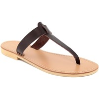 Chaussures Femme Tongs Donna Toscana  Marrone