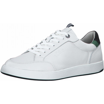Chaussures Homme Baskets basses S.Oliver Sneaker Weiß