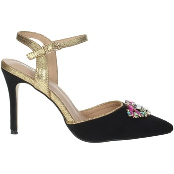 Chaussures Femme Sandales et Nu-pieds Menbur 22362 Noir/Or