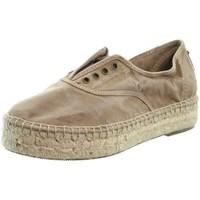 Chaussures Femme Espadrilles Natural World Baskets  ref 52176 Beige Beige