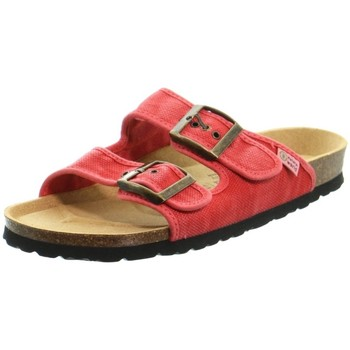 Chaussures Femme Mules Natural World Baskets  ref 52179 Rouge Rouge