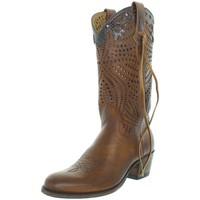 Chaussures Femme Bottes ville Sendra boots Bottes  Deborah en cuir ref_sen43278-tan marron Marron