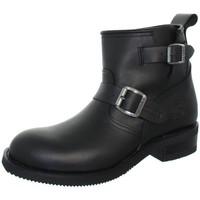 Chaussures Homme Boots Sendra boots Boots  Carol Matebox en cuir ref_sen41133-noir Noir