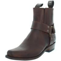Chaussures Homme Boots Sendra boots Santiags  Cuchy Sprinter 7004 en cuir ref_se Marron