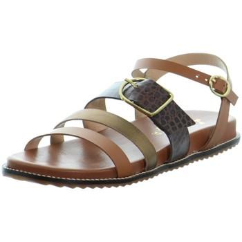 Chaussures Femme Sandales et Nu-pieds L'atelier Tropezien Sandales Atelier Tropézien ref 52070 marron Marron
