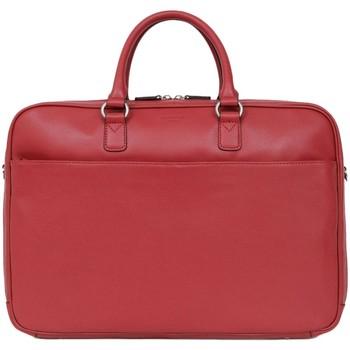 Sacs Porte-Documents / Serviettes Hexagona Serviette  en cuir ref 47995 Rouge foncé 43*29*9 Rouge
