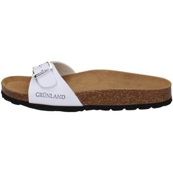 Chaussures Femme Sandales et Nu-pieds Grunland CB0323 BLANC