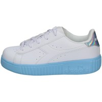 Chaussures Fille Baskets basses Diadora 101.177377-C0671 BLANC