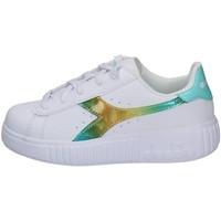Chaussures Fille Baskets basses Diadora 101.177013-C9044 BLANC