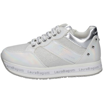 Chaussures Fille Baskets basses Laura Biagiotti 7080 BLANC