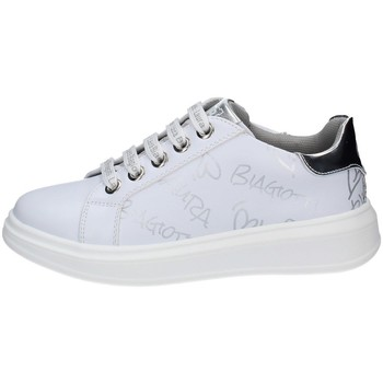 Chaussures Fille Baskets basses Laura Biagiotti 7061 BLANC