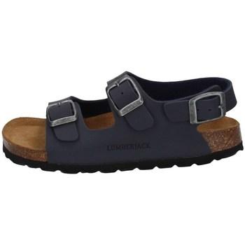 Chaussures Garçon Sandales et Nu-pieds Lumberjack SBB4306-001 BLEU