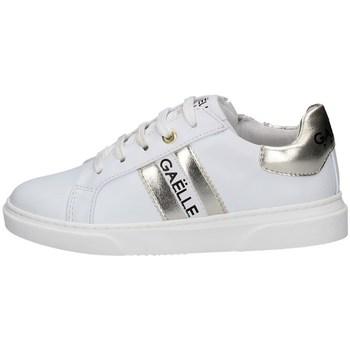 Chaussures Fille Baskets basses GaËlle Paris G-622 BLANC