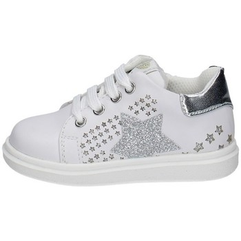 Chaussures Fille Baskets basses Asso AG-10382 BLANC