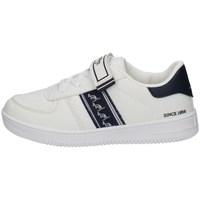 Chaussures Garçon Baskets basses Australian AU056 BLANC
