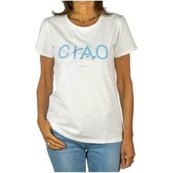 Vêtements Femme T-shirts manches courtes Liu Jo TA1211J5972 BLANC