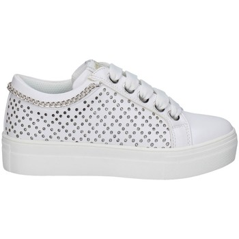 Chaussures Fille Baskets basses Asso AG-10352 BLANC