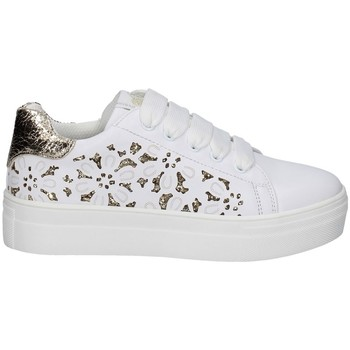 Chaussures Fille Baskets basses Asso AG-10350 BLANC