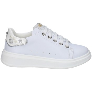 Chaussures Fille Baskets basses Asso AG-10301 BLANC