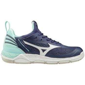 Chaussures Femme Fitness / Training Mizuno Wave Luminous W Bleu marine, Turquoise